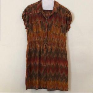 Sonoma southwest print dress, L
